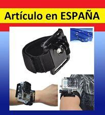 Soporte MUÑECA BRAZO Camara velcro para GOPRO HERO 1 2 3+ ajustable accesorios