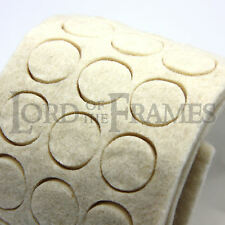90 x 4mm Felt Pads Bumps protect wall straight picture - furniture trophy floor