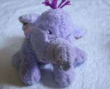 Disney Store Exclusive large soft Heffalump Plush Adorable lovey purple elephant