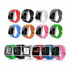 Silicone Wrist Strap Watch Band Case Cover For Apple iPod Nano 6 6th Generation