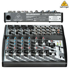 Behringer Xenyx 1202 l Premium 12-Channel Audio Mixer New l Authorized Dealer