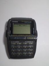 Rare Vtg CASIO TELEMEMO 30 DATA BANK WATCH FOR PARTS . CHECK PHOTOS. NOT TESTED.