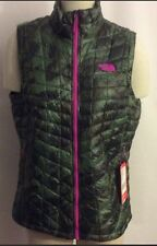 NWT $149 North Face® Women's ThermoBall™ Vest Large Camo