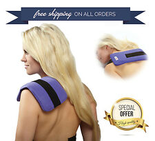 Pain Relief Wrap Neck Pad Hot&Cold Therapy Ice Pack Shoulder Compress Reusable
