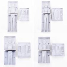 3d familia personas Cuerpo Figura Pastel Molde Fondant modelización Sugarcraft Decoración Molde