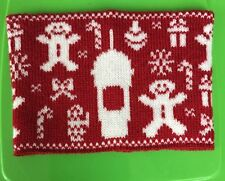 Starbucks 2015 Holiday Knit Sleeve EXTREMELY LTD FRAPPUCCINO promo ugly sweater