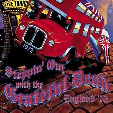 Steppin' Out with the Grateful Dead: England '72 [4 DISC FATBox] NEW SEALED (CD