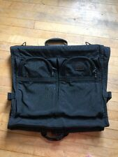 TUMI ALPHA BLACK BALLISTIC NYLON GARMENT BAG BI-FOLD SUITCASE HANGING LUGGAGE