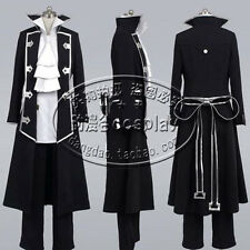 Pandora Hearts Gilbert Nightray (Raven) Uniform Cosplay Costume Any Size