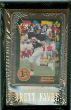 Brett Favre Wood 4x6 Commemorative Plaque 1991 Wild Card Rookie w/ Nameplate