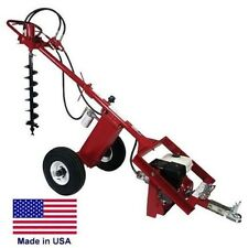 POST HOLE DIGGER Earth Auger - Hydraulic - 9 Hp Honda - 9 GPM - 351 FTLBS Torque