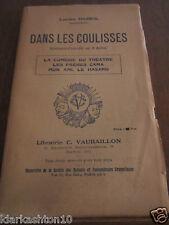 Lucien Dabril: Dans les coulisses, spectacle-comédie en 4 actes/ Ed. Vaubaillon