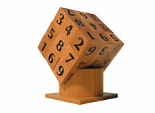 Su Dokube... Wooden SUDOKU Puzzle Cube... Russimco Testing Mind Teaser.. BNIB