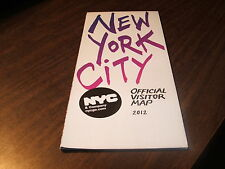 2012 NEW YORK CITY OFFICIAL VISITOR MAP