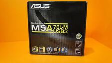ASUS M5A78L-M/USB3 SOCKET AM3+ AMD mATX MOTHERBOARD CROSSFIREX DVI HDMI HTPC NIB