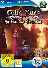 GRIM TALES * FARBEN DES GRAUENS *  WIMMELBILD-SPIEL  PC DVD-ROM