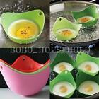 4 x Silicone Silicon Egg Poacher Poaching Chooks Pods Twin Pack Kitchen Cookware