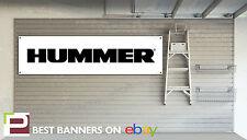 Hummer Workshop Garage Banner, H1, H2, H3, Limo