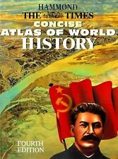 Hammond the Times Concise Atlas of World History (4th ed.)-ExLibrary