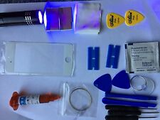 iPhone 6  Front Glass Repair Kit White, loca glue, wire, Uv Torch