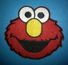 Elmo Sesame Street Iron On Embroidered Hat Jacket Hoodie Backpack Patch Crest A