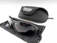 New Bolle Groove Sahded Smoke Lens Sports Safety Sunglasses with Hard Case