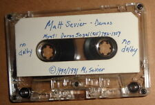 Matt Sevier - Rare Demo Cassette - 1990 - Marry Katherine, Blake's Theorem ...