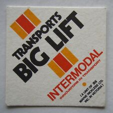 Transports Big Lift Intermodal Mayne Nickless Coaster