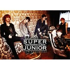 SUPER JUNIOR - [BONAMANA] TYPE A 4th Album CD+Photo Book+Card Sealed K-POP SM