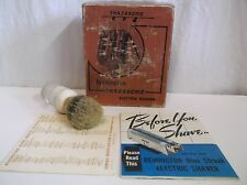 Vtg Remington Threesome Electric Shaver BOX & Instructions Model 79 USA Razor