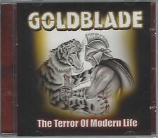 GOLDBLADE - THE TERROR OF MODERN LIFE - (NEW & SEALED CD) - OVER132CD