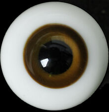 HighQuality 10mm Deep Brown Glass BJD Eyes for MSD DOD DZ AOD Volks Dollfie Out