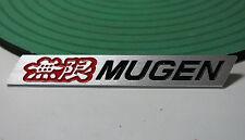 Mugen Chrome Emblem Badge (Red & Black) suit for Acura TSX RSX Honda Civic S2000