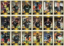 Real Madrid European Champions League winners 2000 football trading cards