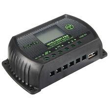 10A 12V/24V LCD Regolatore di Carica Solare Pannello Regulator Controllore PWM
