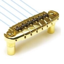 Graph Tech Ghost loaded Resomax NW1 Wraparound Bridge PN-8593-G0 - Gold