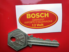 BOSCH Oval 12 Volt Coil Sticker 48mm Vintage Retro Classic Car Porsche BMW VW