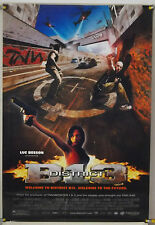 DISTRICT B13 ROLLED ORIG 1SH MOVIE POSTER LUC BESSON DAVID BELLE PARKOUR (2004)