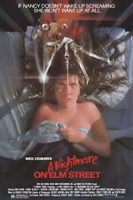 A NIGHTMARE ON ELM STREET 1 (1984) ~ 27x40 MOVIE POSTER ~ Freddy Krueger