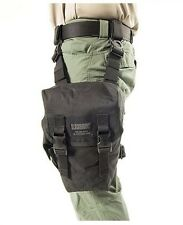 New! Blackhawk Ultralight 500D Ripstop Omega Gas Mask Pouch - Black - 56GM03BK