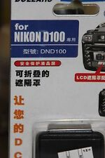NIKON D100 DSLR CAMERA LCD HOOD AND SCREEN PROTECTOR BNIB
