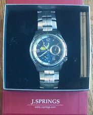 J. Springs by Seiko Insturments Mens Retorgrade Multi-Function S.S. Watch