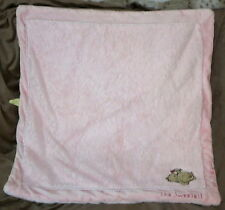 DISNEY CLASSIC POOH PINK BABY GIRL BLANKET Soft Plush Sweetest Of Dreams