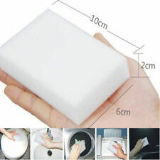 20pcs Magic Cleaning Sponge Car Wash Eraser Cleaner Stain Remover Pad Foam White