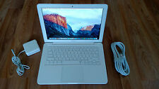"Apple MacBook White MC207LL/A.13"" a1342.New 1TB SSHD Hybrid. NEW 8gb. OSX El Cap"
