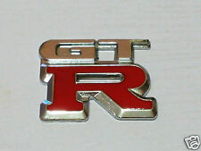 GTR GT-R METAL BADGE CAR BIKE SCOOTER FORD HOLDEN NISSAN MAZDA SAAB TOYOTA KIA