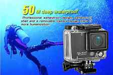50M Waterproof, WIFI Action Sport Camera Outdoor HD1080 Diving paddle boarding