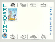 Lesotho #505 Disney 1v Imperf Proof Mounted on M/S Chromalin Background Proof