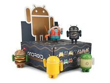 NEW GOOGLE ANDREW BELL DUNNY ANDROID MINI COLLECTIBLE SERIES 4 FULL CASE 3in