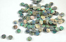 Green Abalone Inlay Material 80 pieces Dots 6 mm (VG-06)